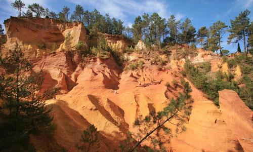 SENTIER DES OCRES | le sentier des ocres à Roussillon | Colorado Aventures